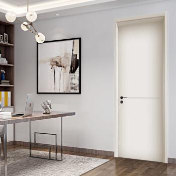 志邦木门 静音门卧室门室内门套装免漆门 轻奢地平线系列 QS105Y