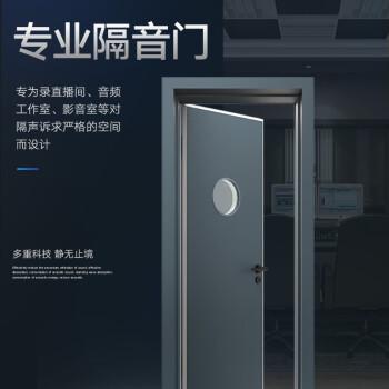 声博士 G65S室内静音隔音门木质录音室影院KTV室内门实木门卧室门隔声 S198