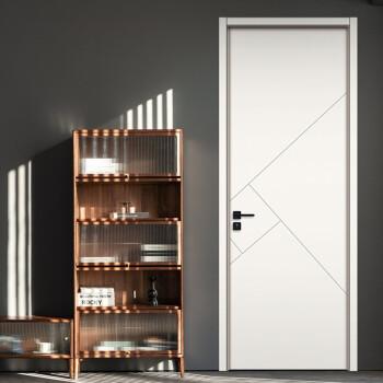 塞纳春天木门卧室门定制房门室内门木质复合烤漆门 木质复合烤漆门-A128