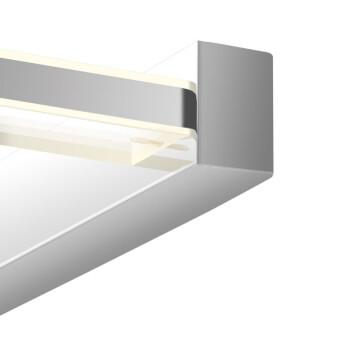 欧普照明(OPPLE) LED镜前灯化妆壁灯卫生间浴室 【白色恋人】化妆镜灯 白色恋人 【大号】12.5瓦 灯身长64厘