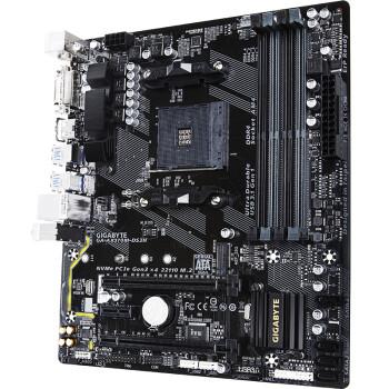 技嘉(GIGABYTE)AX370M-DS3H主板 (AMD X370/Socket AM4)