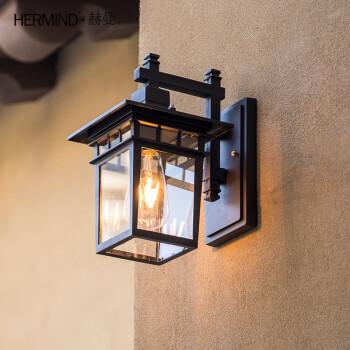 欧式复古户外壁灯防水别墅装饰景观庭院灯阳台走廊过道门前壁灯具