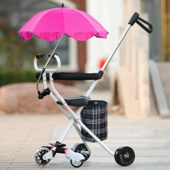 带娃出门溜娃神器遛娃神器婴儿童三轮车宝宝手推车轻便可折叠简易小