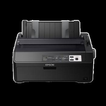 【企业采购】爱普生(EPSON)LQ-595KII 80列高速卷筒针式打印机 三年免费保修 官方标配