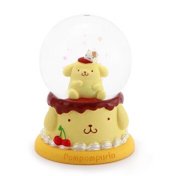 jarll创意摆件可爱水晶球卡通布丁狗送女生女孩男孩儿童生日礼物 布丁图片