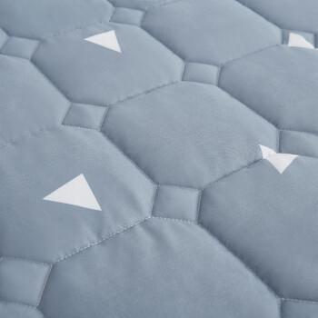 雅鹿·自由自在 床笠家纺 加厚夹棉床罩床单 防滑可水洗床垫套防滑床垫保护套 120*200*25cm 爱巢