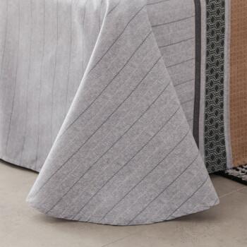 南极人 床单家纺 亲肤印花被单 单人学生宿舍床单单件 潮流品味 160*230cm