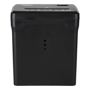 日本仲林(Nakabayashi)桌面自动碎纸机小型粉碎机办公家用迷你碎纸机快速粉碎作业文件 黑色 NSE-T01C