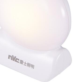 雷士照明 小夜灯LED光控插电灯儿童床头灯卧室迷你宝宝婴儿喂奶灯 贝壳-节能小夜灯