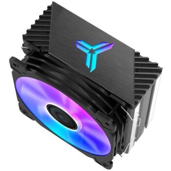 乔思伯(JONSBO)CR-1000 塔式CPU散热器(七彩流光光效/4热管/温控风扇/支持多平台/附硅脂)