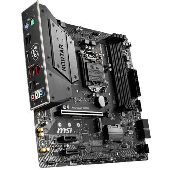 微星 (MSI) MAG B365M MORTAR 主板 +英特尔(Intel)i3 9100F 酷睿四核 盒装CPU处