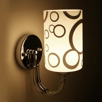 艾利斯顿现代壁灯卧室床头壁灯客厅背景墙壁灯走廊过道后现代壁灯 单头