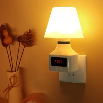 大头人 datouren 小夜灯婴儿喂奶灯卧室小台灯床头插电遥控感应定时起夜小灯睡眠夜光灯