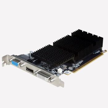小影霸(Hasee神舟)GT710 1G/2G DDR3台式电脑独立显卡游戏办公设计 黑色 2G