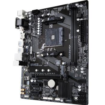 技嘉(GIGABYTE)A320M-S2H 主板+AMD 锐龙3 3200G 板U套装/主板+CPU套装