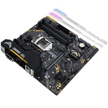 华硕(ASUS)B365台式机电竞游戏主板支持9100F/9400F/9500/9700F处理器 TUF B360M-P