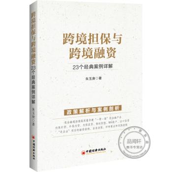 《速发跨境担保与跨境融资 23个经典案例详解 朱玉庚著 》
