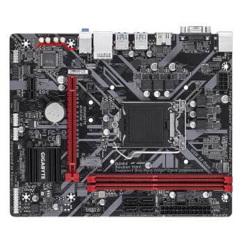 技嘉(GIGABYTE)B365M主板DDR4 1151针 台式机 游戏电竞主板 B365M H【高性价比】 台式机电脑