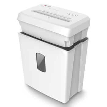 齐心(Comix) 办公家用静音碎纸机 时尚高效提头式小型碎纸机 单次碎6张 15L容量S41506