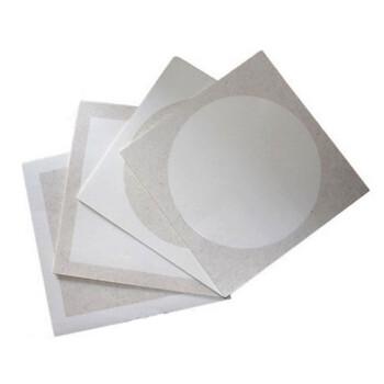 60张宣纸卡纸镜片国画书法圆形软卡纸画画纸扇面熟宣卡纸条幅 长方形