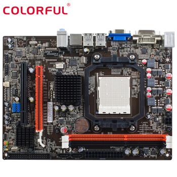 AMD X4 640/速龙 II X2 250 CPU搭七彩虹C.A780T D3 V19 主板套装 X4 640 3.