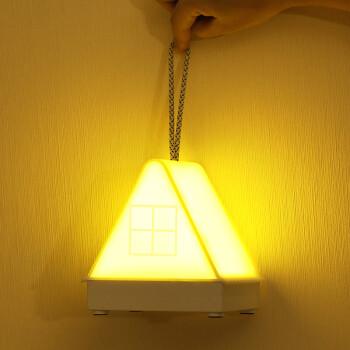 大头人 datouren 卧室床头小夜灯 婴儿宝宝喂奶灯充电遥控定时小台灯氛围伴睡眠夜光灯