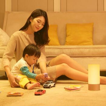 小米 米家床头灯卧室智能台灯小夜灯多彩氛围灯光节日创意礼品礼物APP控制语音调光