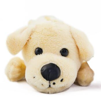 超其特笔袋毛绒玩具儿童可爱娃娃公仔学生铅笔袋创意娃娃公仔米色狗
