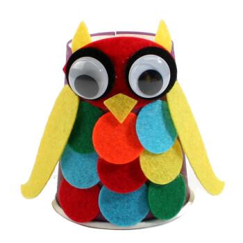 彩泥 艺趣 艺趣幼儿园手工材料儿童手工制作diy材料彩色纸杯手工动物