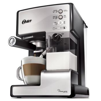 奥士达(Oster) BVSTEM6601S-073 自动奶泡 独立奶罐 全自动花式咖啡机 一键搞定 银色