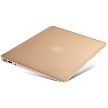 MEIFENG 苹果笔记本保护壳 适用于Macbook Air配件 苹果电脑Pro保护套 金色 13.3英寸Retina无光驱