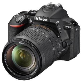 尼康(Nikon)D5500单反双头套机(AF-S DX 18-140mm f/3.5-5.6G镜头 + 50mm 1.8D 镜头)