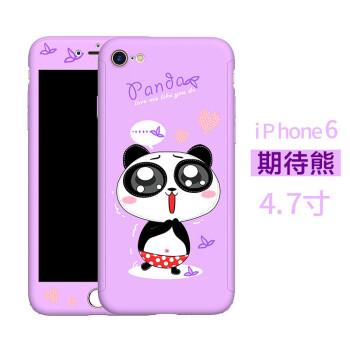 iphone6苹果6plus手机壳 卡通可爱全包防摔套韩国大气
