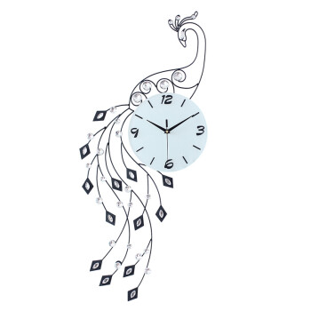 钟表画法创意画
