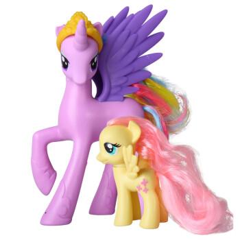 hasbro/孩之宝 小马宝莉彩虹系列套装可爱动物造型女孩玩具六一儿童节