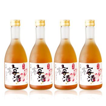 雪姬梅酒15度355ml*4瓶 旺旺梅子果酒