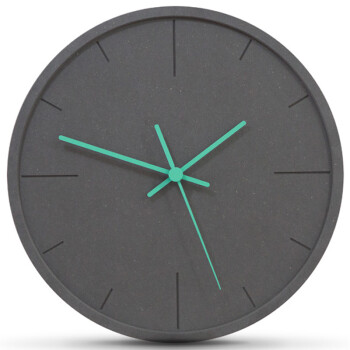 mandelda北欧钟表挂钟创意客厅现代卧室时钟个性餐厅挂表简约石英钟表