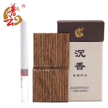 普云 老惠安沉香烟丝 香烟片 烟插烟针 约106支香烟伴侣 越南沉香味道甘醇油脂丰富