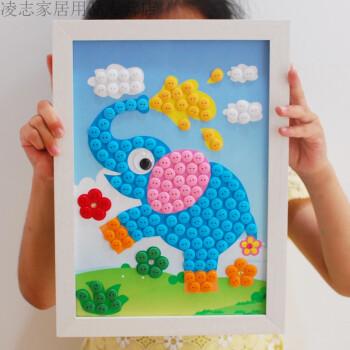 中秋节国庆节粘贴画分享展示
