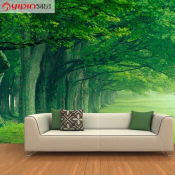 易品(yipin) 壁纸3d立体清新风景墙纸卧室客厅电视背景墙壁画环保墙布