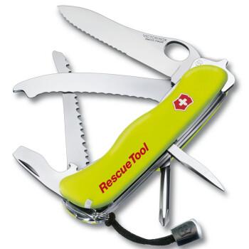 维氏VICTORINOX 瑞士军刀 救生员0.8623.MWN荧光刀柄 可单手开刀(随车宝)