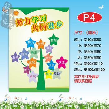 幼儿园心愿树教室装饰墙贴纸 小学班级文化布置成长树