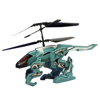 银辉冰兽直升机84677 2通道遥控飞机能飞能走男孩玩具