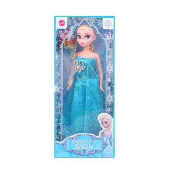 芭比冰雪奇缘艾莎安娜迪士尼公主公仔爱莎frozen套装女孩娃娃玩具冰雪