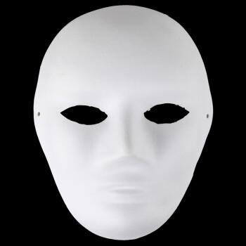 纸浆手绘面具女款