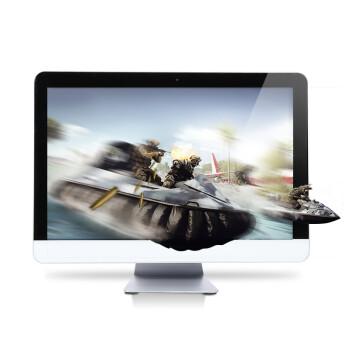一品国度 21.5英寸/300M无线/固态/超薄时尚机身/DIY一体机/娱乐游戏组装电脑 J1900+4G+128G固态