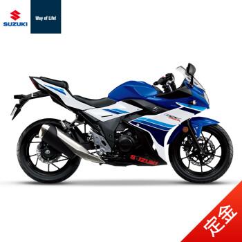 [定金]豪爵铃木gsx250r abs版 双缸水冷电喷250cc超跑摩托车 水晶蓝