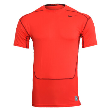 nike耐克nikepro男子运动短袖紧身衣/T恤 449792 636147 红色631647-647 M