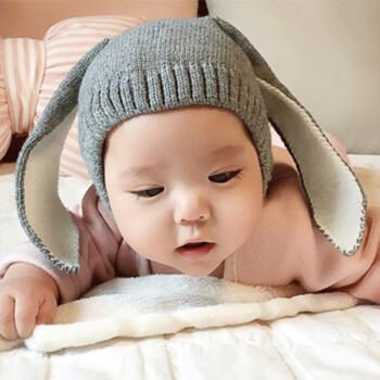淘唛儿(taomaier) 宝宝秋冬帽子男1一3岁潮 韩版男童0女一岁韩国婴儿