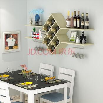 餐厅家具 酒柜 夜良辰(yeliangchen) 红酒架子 墙摆件酒架壁挂收纳